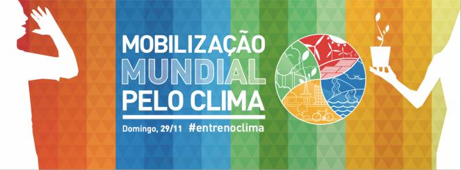 Mobilização mundial pelo clima